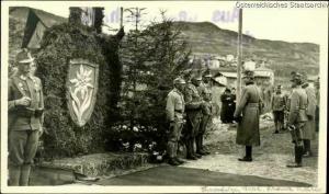 L'erede al trono Beato Carlo in visita nel 1916